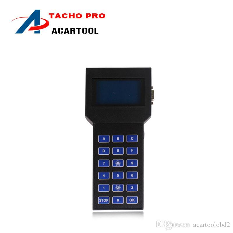 2018 سوبر Tacho برو 2008 تصحيح عداد المسافات أداة تصحيح الأميال الوحدة الرئيسية فقط tacho pro مع DHL شحن مجاني