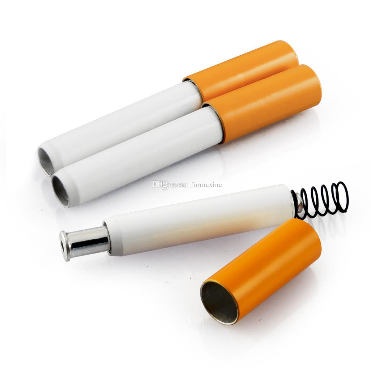 5 X 2-Дюймовый Весной Сигареты Держатель Для Курения Аксессуары Бесплатная Доставка