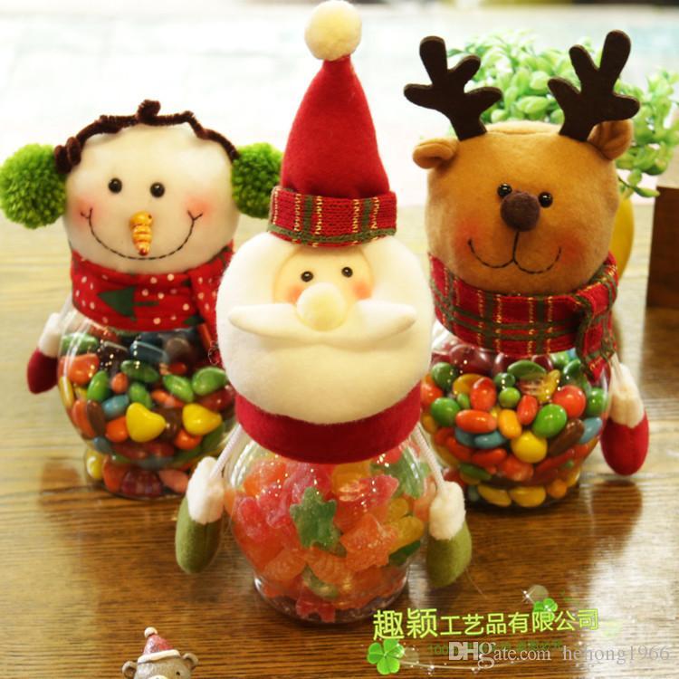 Christmas Candy Pot Creative Children Nursery School Gift Can Eco Friendly Practical Sundries Jar Xmas Decor 7 2qy F R