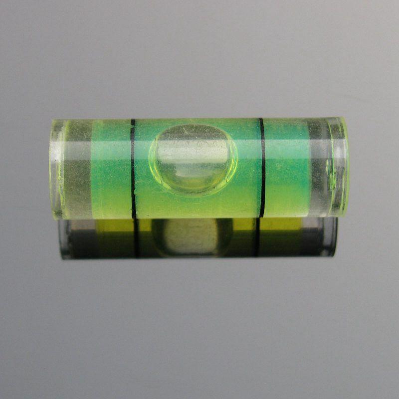 (25 pieces / lot) 8 * 23 mm 플라스틱 튜브 레벨 버블 스피릿 레벨 버블 4 색