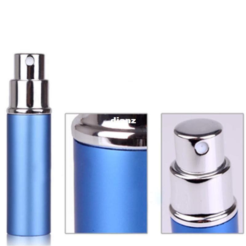 Mode Hot 6 ml Mini Portable Atomiseur Rechargeable De Parfum Bouteille De Parfum Coloré Bouteilles De Parfum Vide