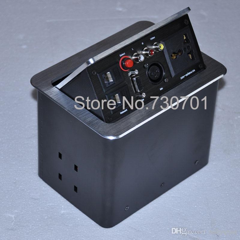 Гнездо HDMI / гнездо конференц-зала / гнездо VGA сети \пневматический тип \ спрятанный\ предварительный multi контроль центра гнезда AV