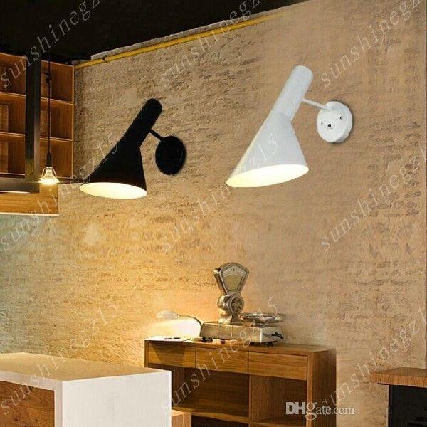 Louis Poulsen Arne Jacobsen AJ luminária de parede AJ iluminação de parede Dinamarca Modern luz Louis Poulsen luz de parede AJ Væg arandela