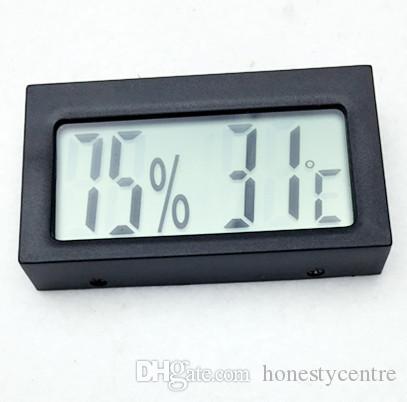 Высокое качество мини Цифровой ЖК-дисплей Крытый открытый Термометр Гигрометр Прибор Влажности Датчик температуры Метр тестер температуры
