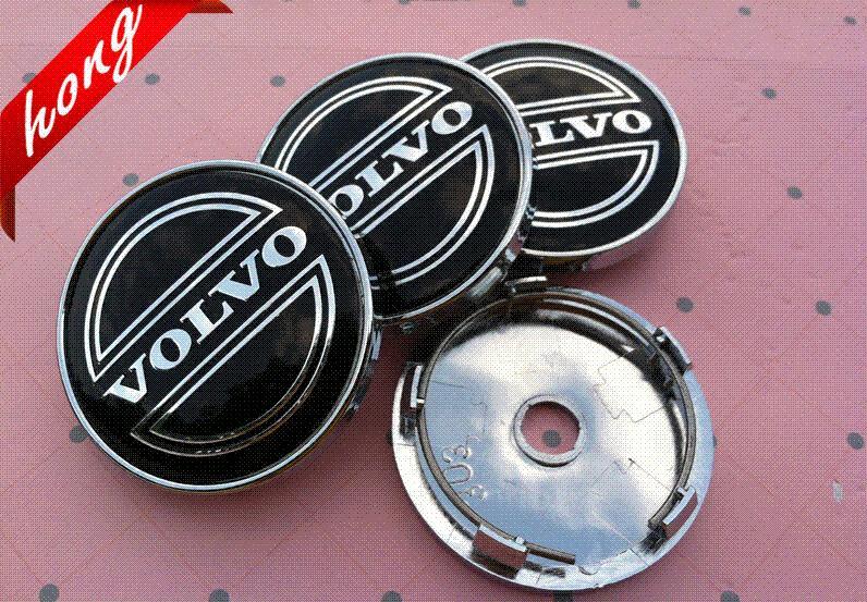 4pcs/lot 60mm VOLVO car emblem modification Wheel Center Hub Cap wheel Badge covers Auto Accessories