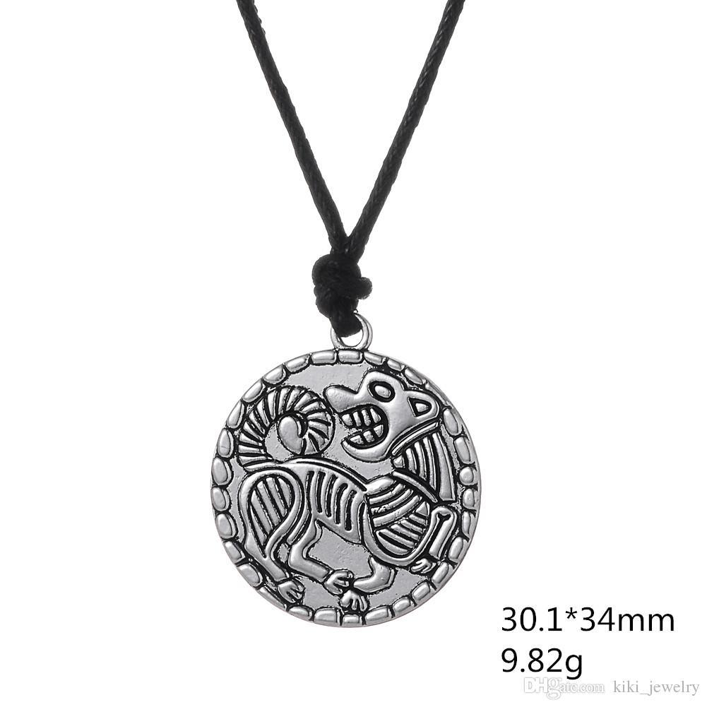 collier pour chien style viking