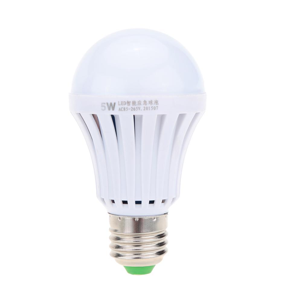 60w Night Market 220V Emergency Super Spotlight Emergency Lamp Charge Smart Led Light Bulbs Magic Led Water Power Bulb Failure Lamp Bright Candelabra L534ARj