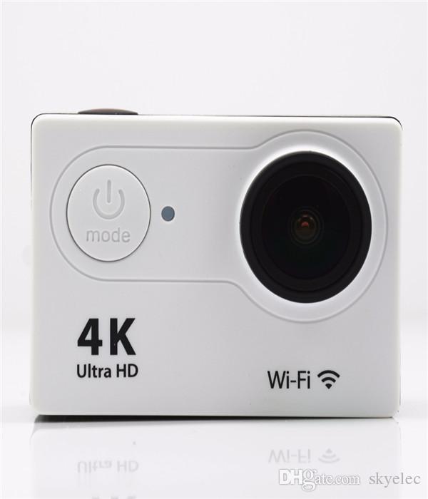 """جديد عمل الكاميرا hd الحد السلس الأصلي eken h9 h9r الترا hd 4 كيلو 25fps النائية wifi 2.0 """"lcd ماء الموالية خوذة كام تحت الماء الرياضة"""