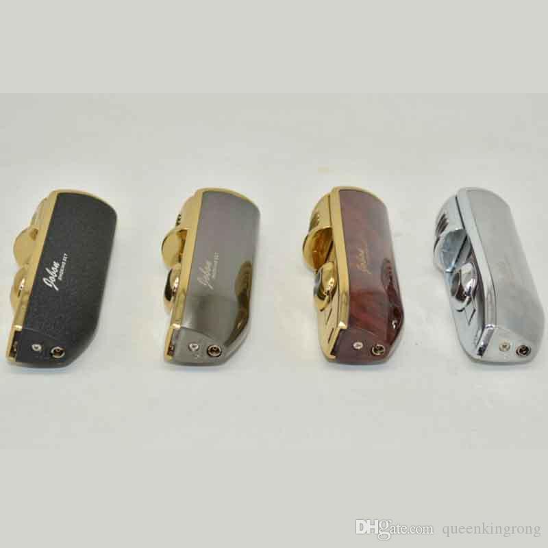 선물 상자 없음 가스 도구 흡연 액세서리와 라이터 3 세 횃불 시가 방풍 토치 부탄 라이터 제트 담배 Jobon