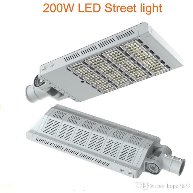 200W LED luces de calle pueblo pasarela jardín camino de los caminos llevó la lámpara de iluminación exterior 3 años de garantía