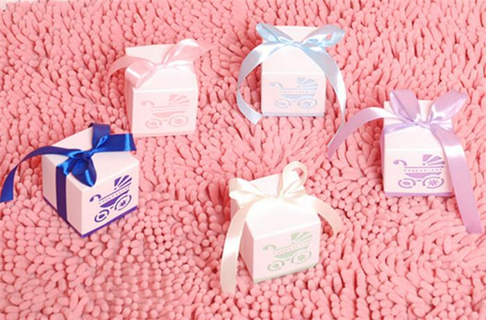 Baby Carriage Candy Boxes Wedding Favor Baby Day Out Candy Boxes ...
