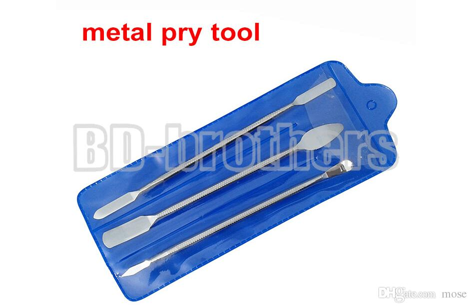 3 in 1 Three-piece Metal Pry Tool Crowbar Open Housing Tools Bar for iPhone iPad Tablet PC Phone LCD Screen Repair 50sets