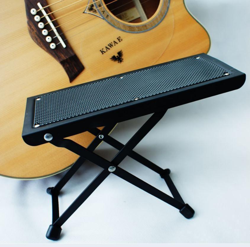 1pcs 블랙 우쿨렐레 전기 어쿠스틱 기타 발 액세서리 기타 페달 기타 부품 악기