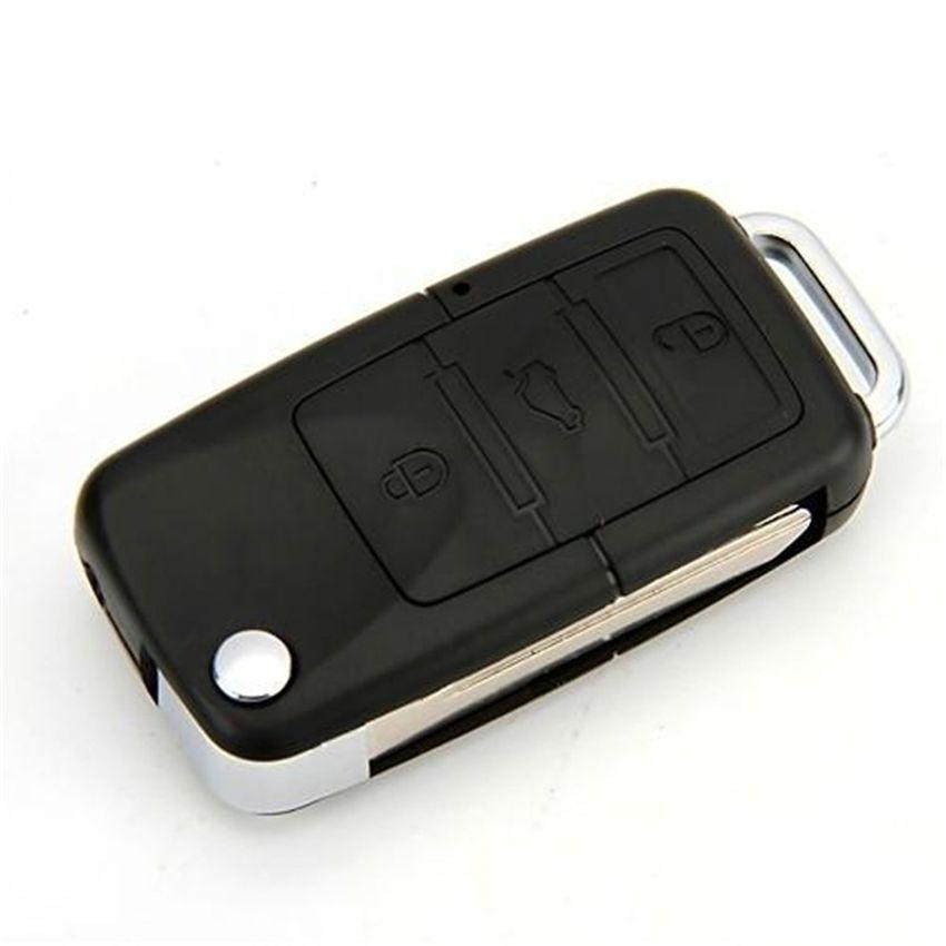 5pcs/lot HD 720P Car KeyChain Camera Mini Car Key Cameras Micro DV DVR Mini Video Recorder Portable Camcorders