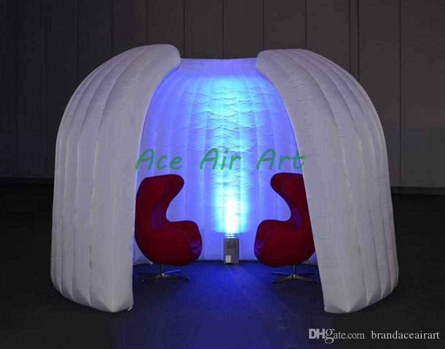 portable inflatable tent inflatable enclosure meeting room inflatable exhibition room for exhibition trade show display