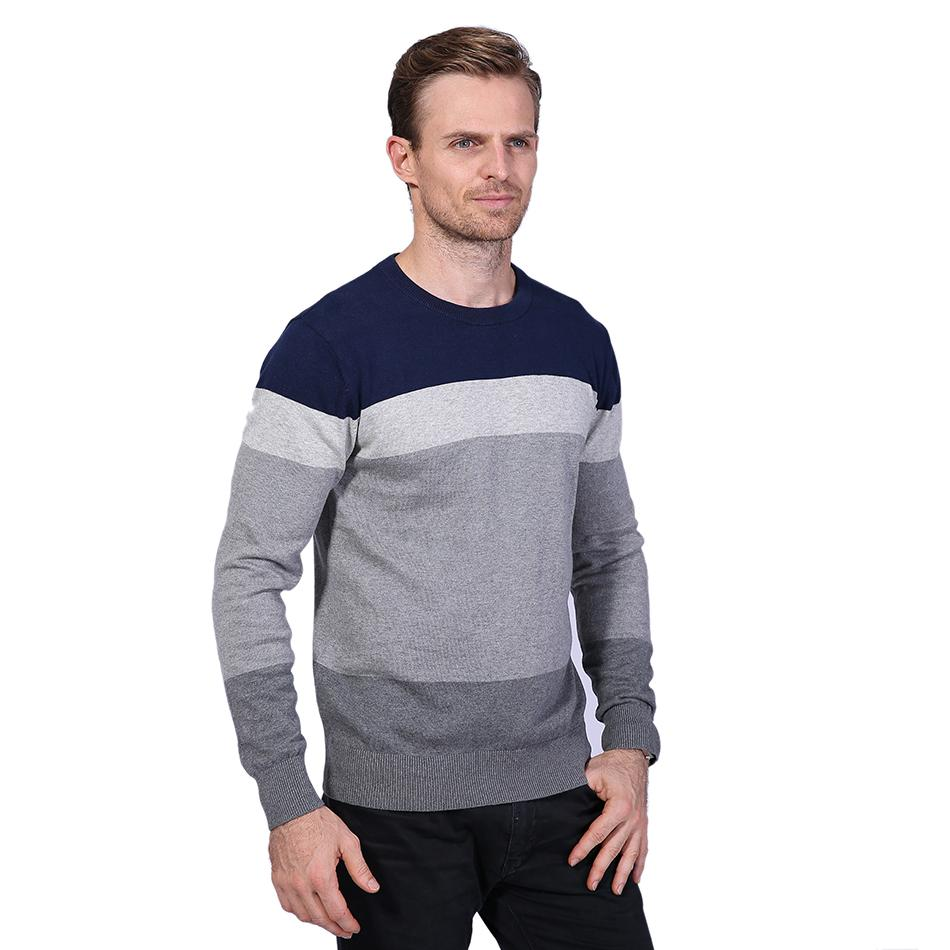 2019 2017 New Brand Sweaters Men Fashion Style Autumn Winter Patchwork  Knitted Quality Pullover Men O Neck Casual Mens Sweater M 5XL YH 066 From
