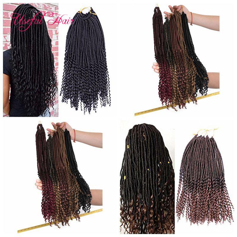 Havana Mambo Dreadlocks GODDESS CROCHET BRAIDS 100g faux locs braids hair extensions dreadlocks synthetic braiding hair Janet Collection