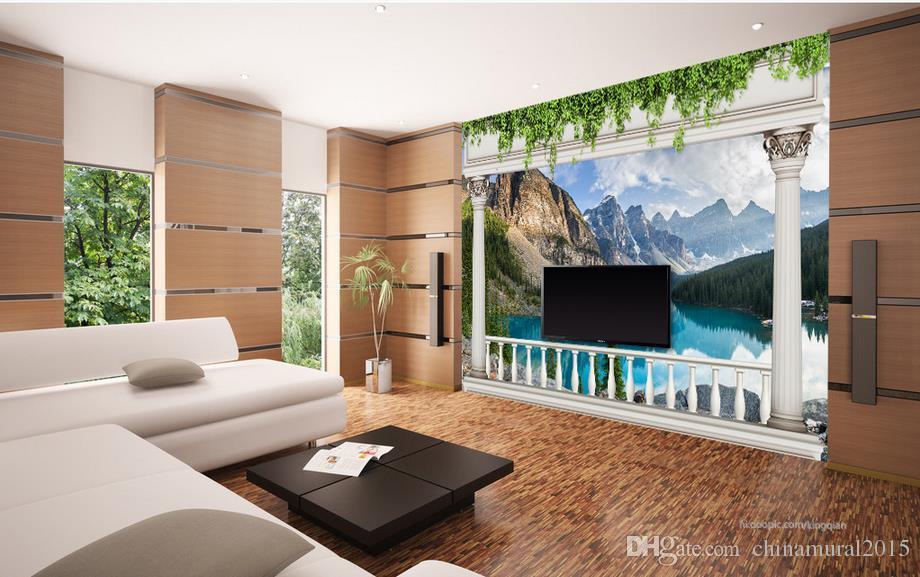 avrupa duvar kağıdı avrupa balkon dağ gölü peyzaj yaşam tarzı duvar kağıdı