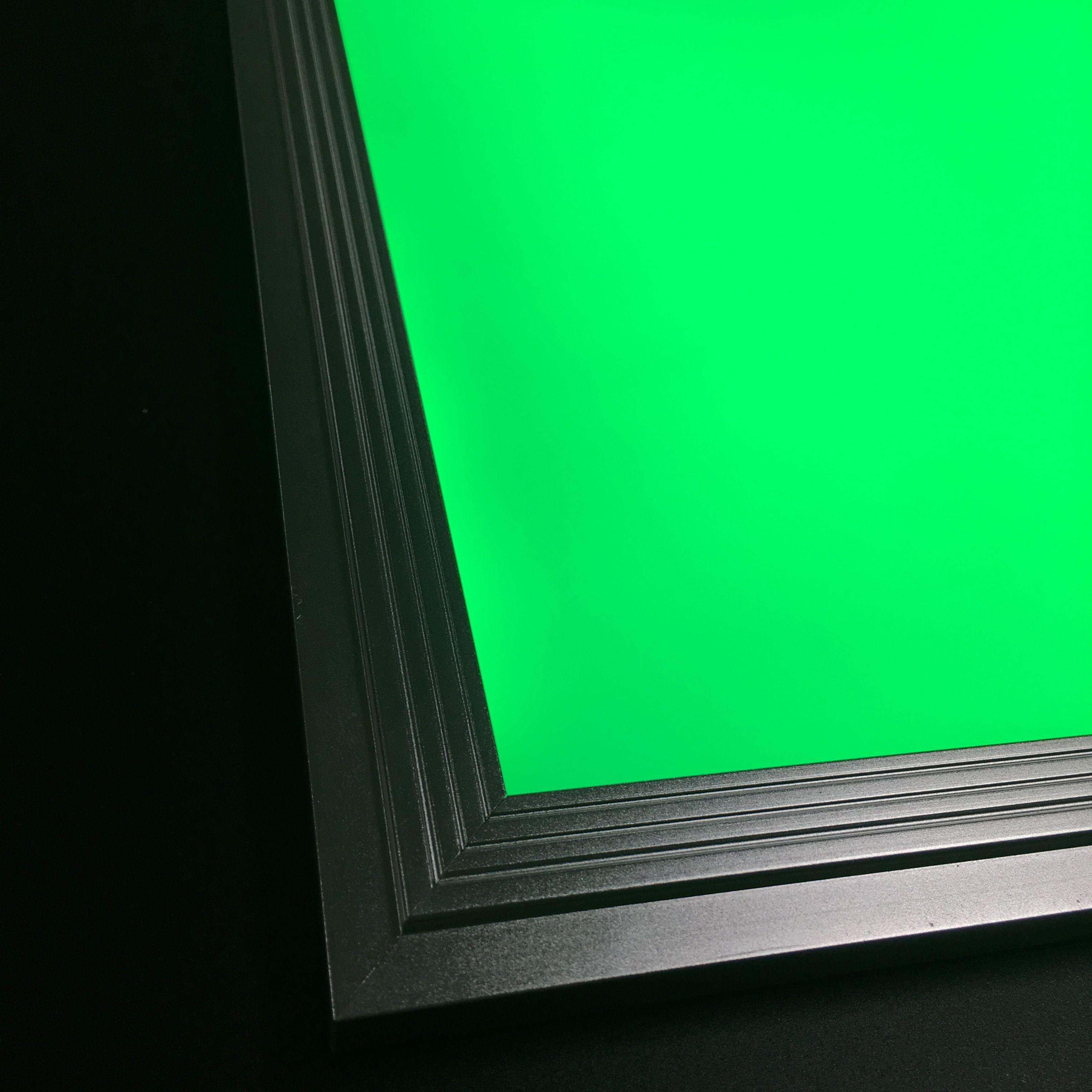 Envío gratis RGB Color ajustable y regulable LED Panel Light 300x300mm con control remoto inalámbrico de aluminio + material de PMMA