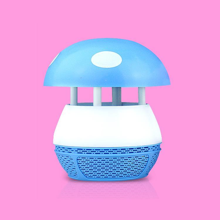 Champignon de lampe de moustique électronique domestique USB d'aspiration usine de lampe anti-moustique photocatalyseur