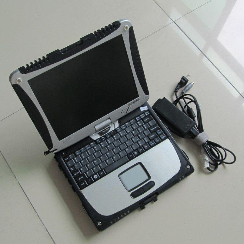 Strumento diagostico 100% Toughbook di alta qualità CF19 CF-19 Laptop CF 19 Panasonic RAM 4G Touch Screen con software HDD MB Star C3 C4 C5 per BMW ICOM A2 Avanti