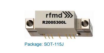 RFMD R2005300L Si Reverse Hybrid da 5 MHz a 200 MHz (corrente bassa)