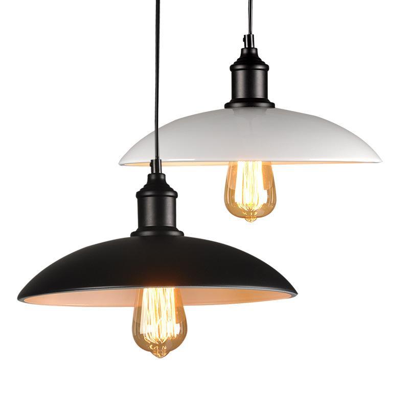 Modern minimalist retro creative industrial personality European style dining room bedroom corridor lamp coffee shop pendant lamp