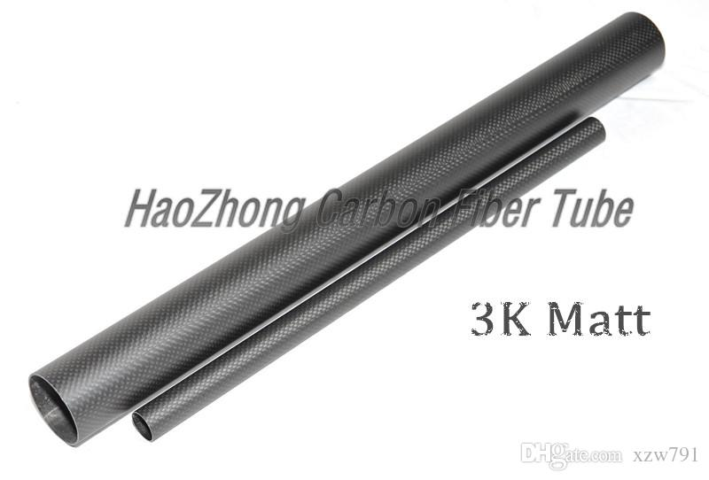 28MM OD x 25mm 26mm ID x 500MM 100% 3k Carbon Fiber tube / Tubing /pipe/shaft, wing tube Quadcopter arm Hexrcopter 28*25 28*26