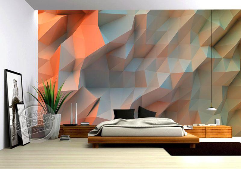 3D Mural Creative Orange Space Wallpaper Bedroom Unique Design Photo  Wallpaper Painting Large Wall Art Ceiling Kid\'S Room Home Decoration  Desktop High ...