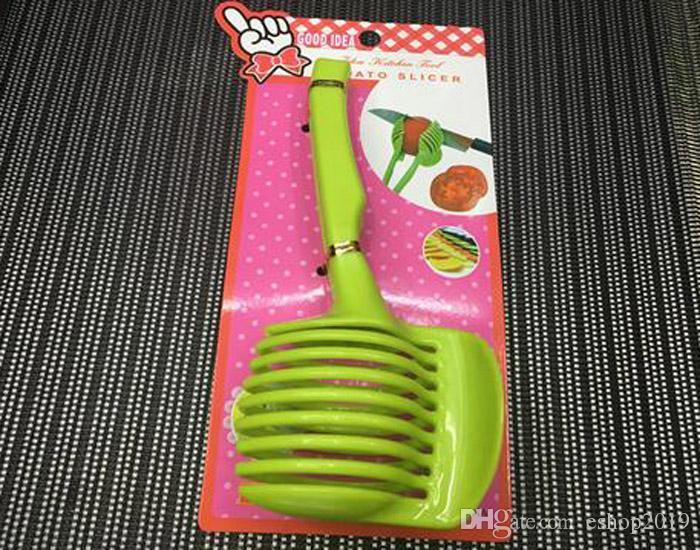 obst cutter stnder utensilios de cozinha assistent lounged tomate zitrone shreadders slicer zufllige farbe