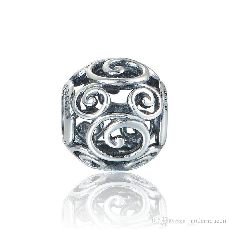 Charms mouse original S925 sterling silver fits for pandora style charm bracelets free shipping aleCH622H9