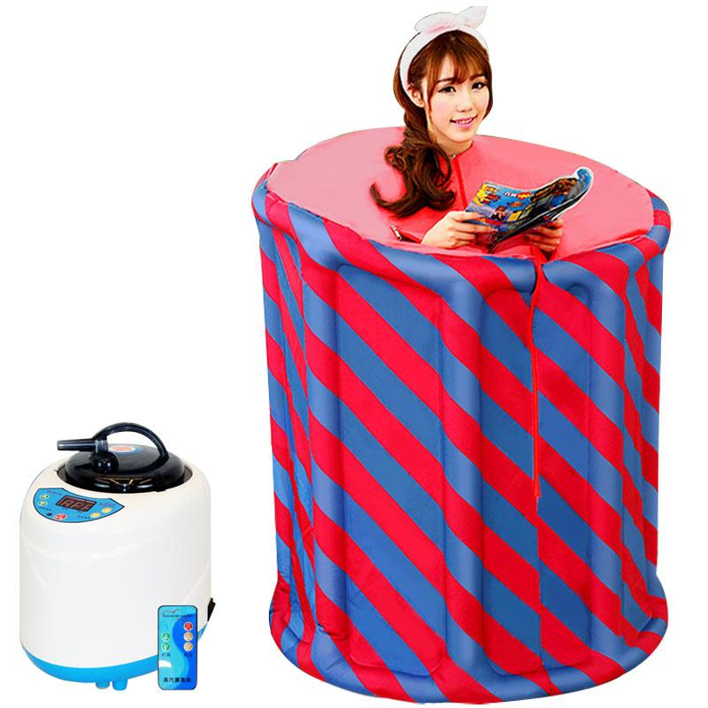 Home Sauna Steam Box Aromatherapy Spa Steam Sauna Tent Steamer Slimming Body Detox Treatment Insomnia 110-240V US EU UK Plug 2018 from xiaoxiaoyaoyao ...  sc 1 st  DHgate.com & Home Sauna Steam Box Aromatherapy Spa Steam Sauna Tent Steamer ...