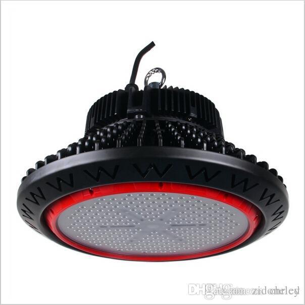 led UFO Iluminación industrial LED bahía alta Bahía Luz iluminación 110lm / w AC85-265V 3 años garantía 100w / 150w / 200w