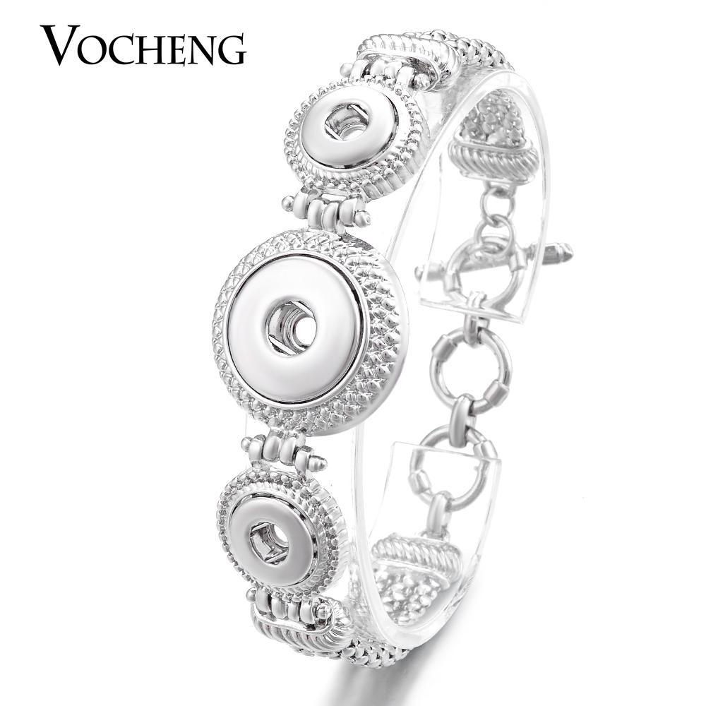VOCHENG NOOSA Ginger Snap Combo Bracelet Bijoux Interchangeables Bouton 18mm et 12mm NN-455