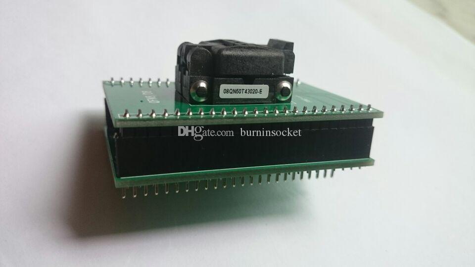 CNV-QFN8-DIP Burn w gniazda Plasstronic 08QN50T43020 Gniazdo QFN8PIN z płytką PCB 0,5mm
