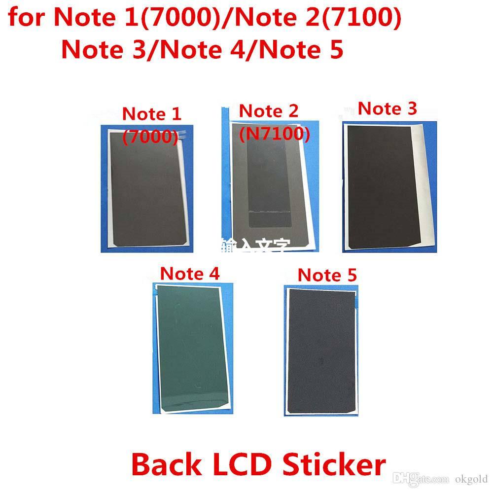 Tela de alta qualidade lcd de volta adesiva adesivo cola fita para samsung note 1 2 3 4 5 mini-borda (306ssn-am10))
