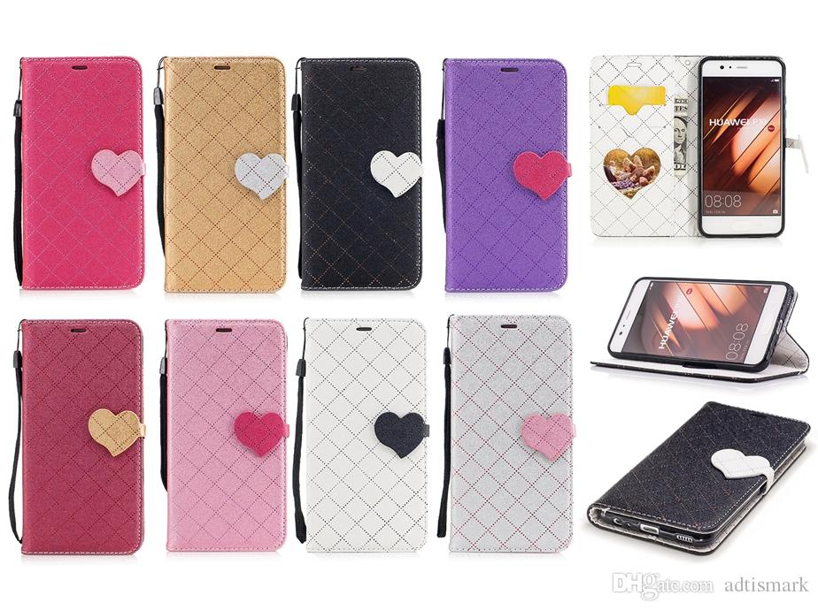 Flip Cover Custodia HUAWEI P10 Lite Luxury Card Lanyard Wallet Copertura Color Block HUAWEI P10 Lite Flip Case Da Adtismark, 3,27 € | It.Dhgate.Com