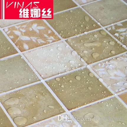 Großhandel Küche Öl Aufkleber Mosaik Wandaufkleber Bad Wasserdicht ...