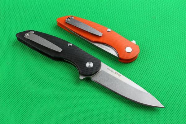Alta calidad Jagged Bear 5CR15MOV Camping caza regalo salvaje cuchillo envío gratis 1 unids