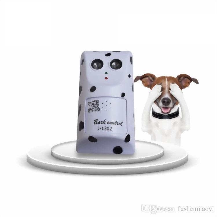 애완 동물 용품 개 초음파 초음파 짖는 소리 - 정지 장치 음성 제어 자동 식별 지능 짖는 도매 무료 배송 구분