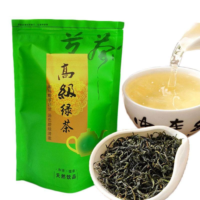 Preferências 250g chinês Orgânica Top-grade Green Tea Montanha Amarela Maofeng Raw Saúde Tea New Spring Green Tea Alimentos