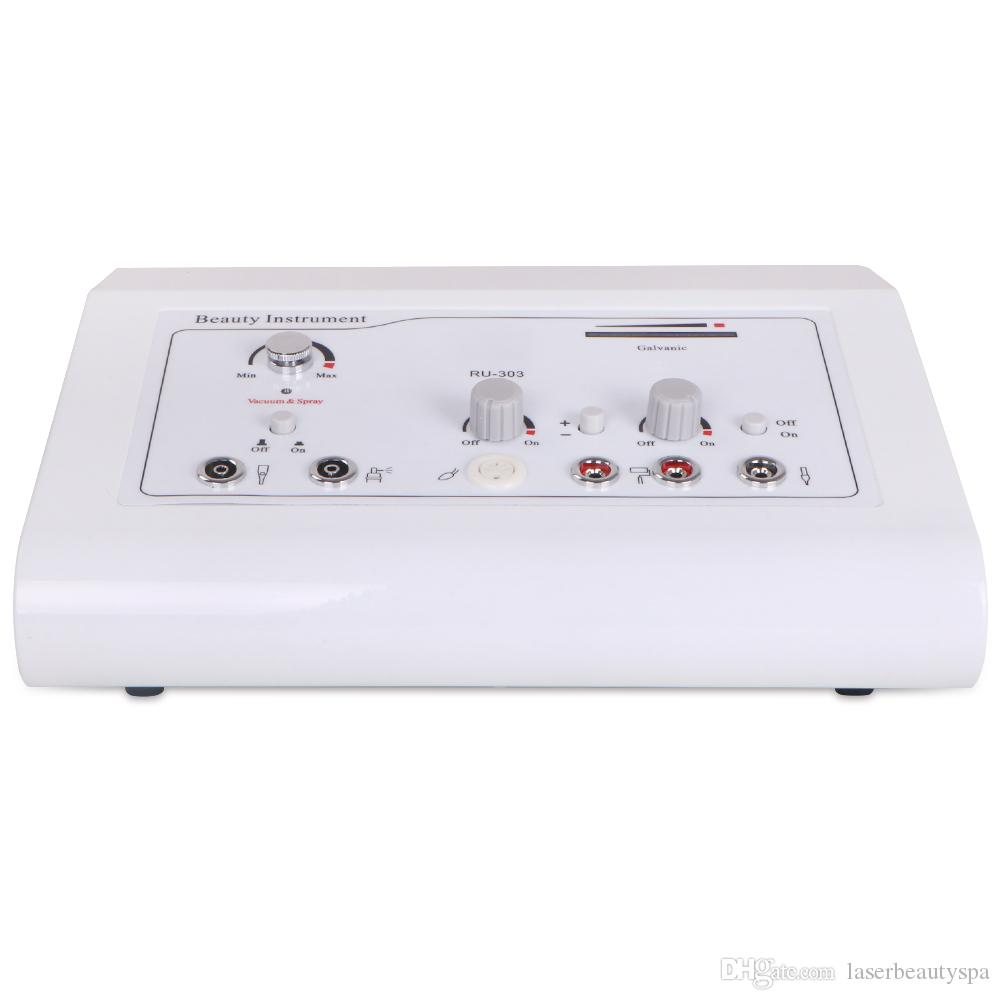NEW MODEL 4in1 Galvanic Vacuum High Frequency Electropathy Machine For Skin Rejuvenation Facial Lifting Beauty Salon Equipment Home Use