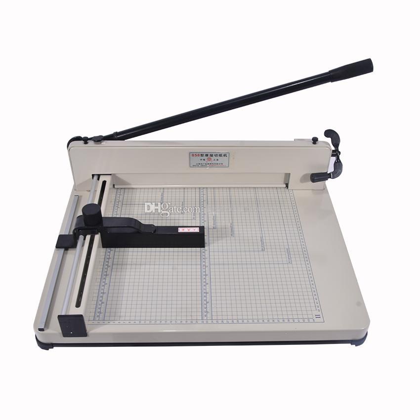 جديد a3 سطح المكتب كومة ورقة القاطع المقصلة 858-A3 حجم دليل آلة قطع الورق ماكس عرض 40MM
