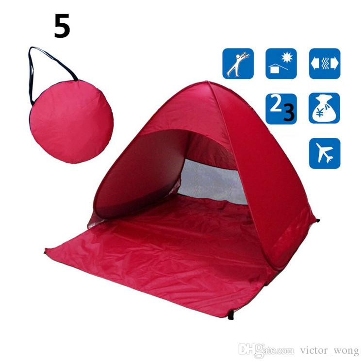 Tende Backpacking 13 Tende da campeggio all'aperto Tende da campeggio per 2-3 persone Tenda di protezione UV diagonale Tipo di rinforzo 10 Pz Spedizione rapida DHL