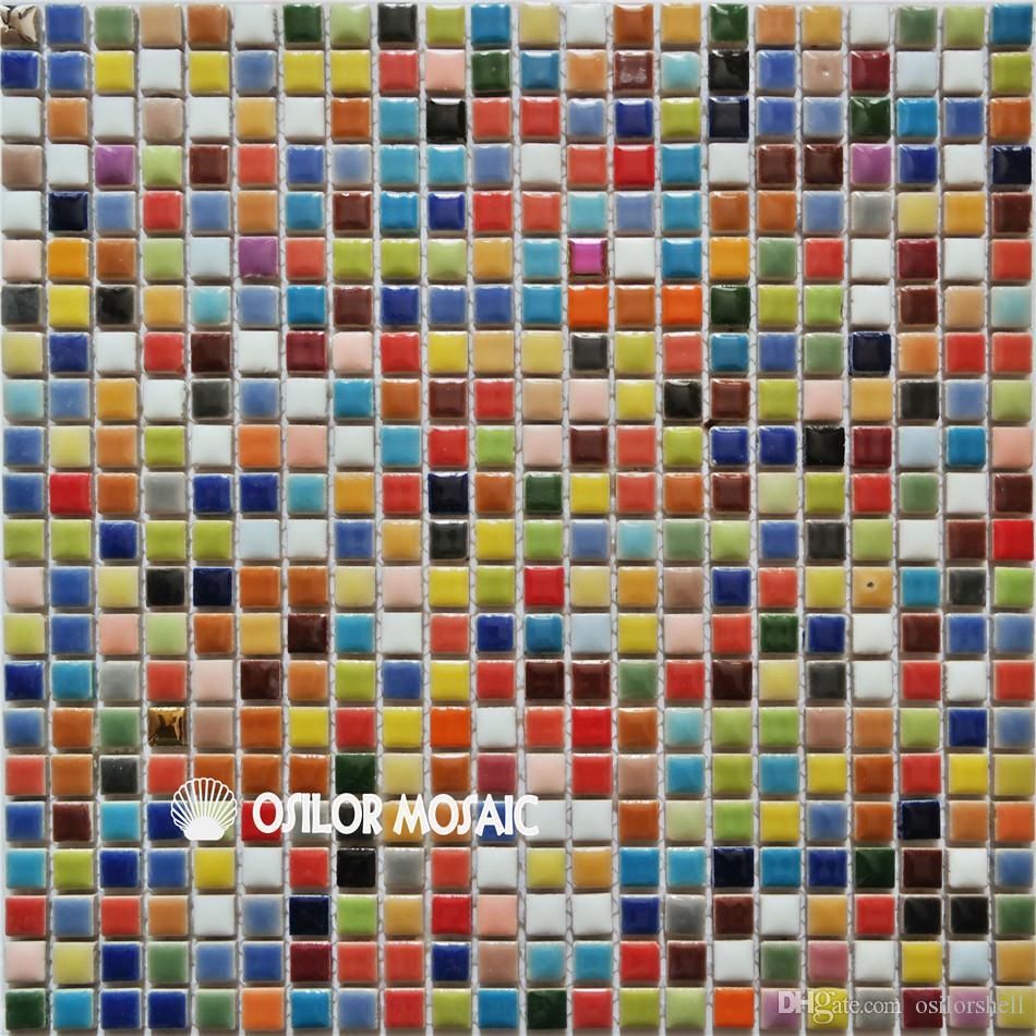 Ful Ceramic Mosaic Tile For Bathroom And Kitchen Decoration Wall