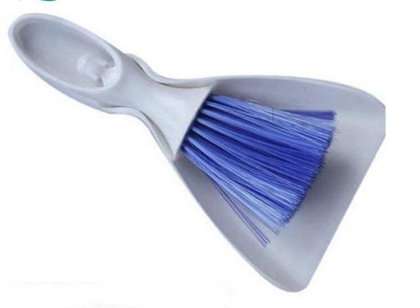 Creative New Car Internal Cleaner Tool Teclado Salida de aire Ventilación Cepillo de limpieza y recogedor de polvo Conjunto de pinceles de limpieza para el hogar Herramientas 5pcs