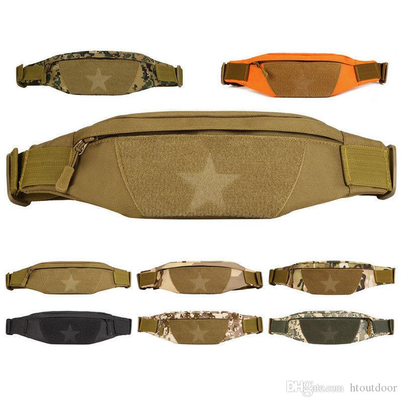 20pcs Anti-theft Men Durable Fanny Waist Pack Belt Hip Bum Tactical Cycling Pouch Outdoor Sport Chest Bag