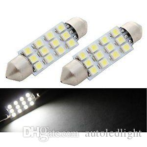 auto led dome Lighting interior light 6 8 9 12 16 18 24 3528SMD 31mm 36mm 39mm 42mm festoon
