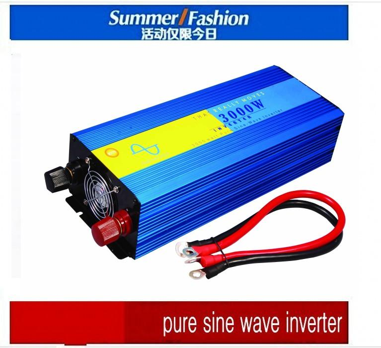 DHL FedEx UPS free shipping Pure Sine Wave 2000W peak 4000W Power Inverter Converter DC 12V to AC 110V or 220V convertidor de potencia