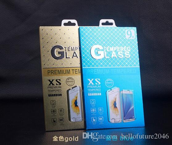100 * 174mm Universal Papier Kleinpaket Verpackung Box für Handy Gehärtetem Glas Displayschutzfolie 100 Teile / los